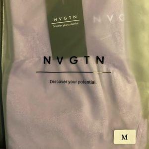 NVGTN contour leggings lilac medium new